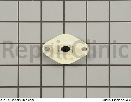 Thermistor for a Whirlpool or Kenmore dryer.