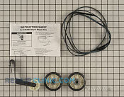 Drum Roller, Belt and Pulley Kit - Part #587636