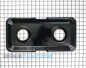 Burner Drip Pan - Part # 2737 Mfg Part # WB49K12