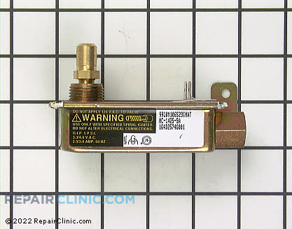 Oven Safety Valve WB19K13 Main Product View