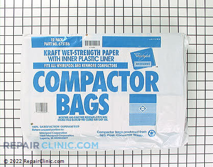 Trash Compactor Bags 675186 Main Product View