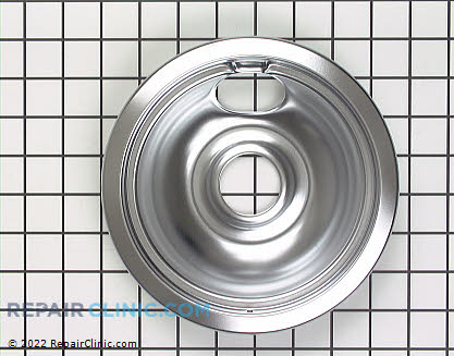 6 Inch Burner Drip Bowl (OEM)  WB31M1 - $8.00