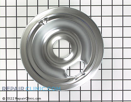 6 Inch Burner Drip Bowl WB31M16 Main Product View