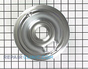 6 Inch Burner Drip Bowl - Part # 15 Mfg Part # WB31M16