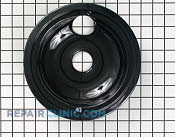 8 Inch Burner Drip Bowl - Part # 8 Mfg Part # WB31M19
