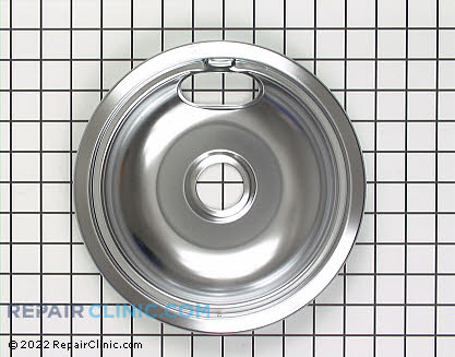 8 Inch Burner Drip Bowl WB32X106 Main Product View