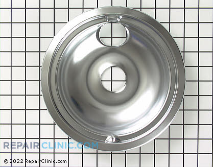 8 Inch Burner Drip Bowl (OEM)  WB32X5076