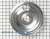 8 Inch Burner Drip Bowl - Part # 11 Mfg Part # WB32X5076