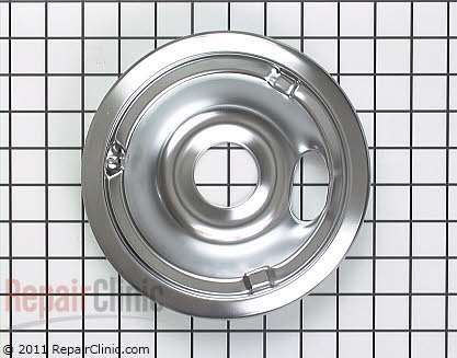 6 Inch Burner Drip Bowl (OEM)  WB31K5024 - $4.25
