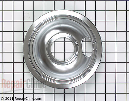 6 Inch Burner Drip Bowl WB32X107 Main Product View
