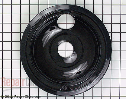 8 Inch Burner Drip Bowl (OEM)  WB32X5069