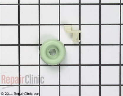 Dishrack Roller Assembly (OEM)  WD12X258
