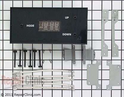 GE Range Mechanical Clock and Timer