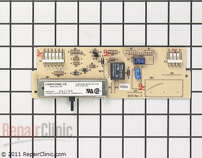 Dispenser Control Board (OEM)  WR55X130 - $83.35