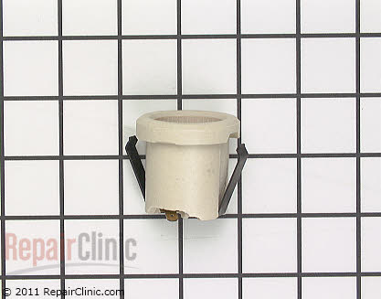 Light Socket (OEM)  WB08T10004 - $4.95