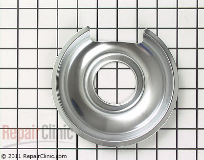6 Inch Burner Drip Bowl (OEM)  484634 - $12.60