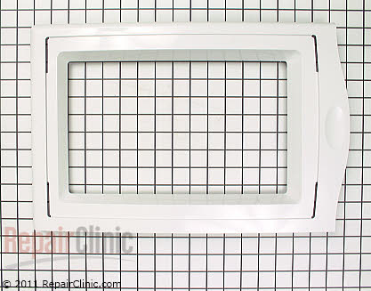 Whirlpool Microwave Door Panel