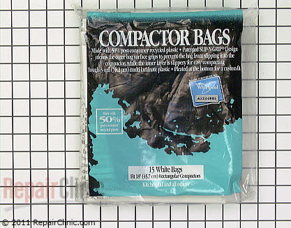 Trash Compactor Bags W10165296RP Main Product View