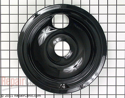 8 Inch Burner Drip Bowl WB31T10015 Main Product View