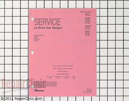 Repair Manual (OEM)  RD231001