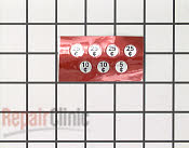 Decals and Labels - Part # 438274 Mfg Part # 214648