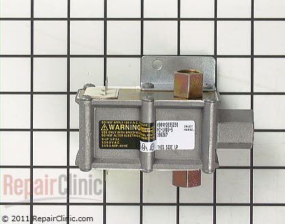 Hotpoint Dual Oven Safety Valve