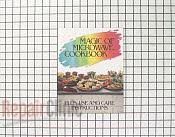 Manual, use & care/cookbook - Part # 602401 Mfg Part # 51001107