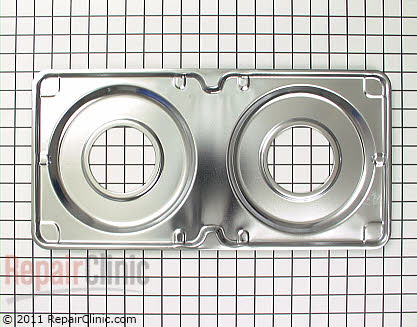 Burner Drip Pan (OEM)  WB32X102, 258158