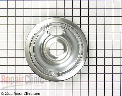 6 Inch Burner Drip Bowl (OEM)  WB32X5090, 258281