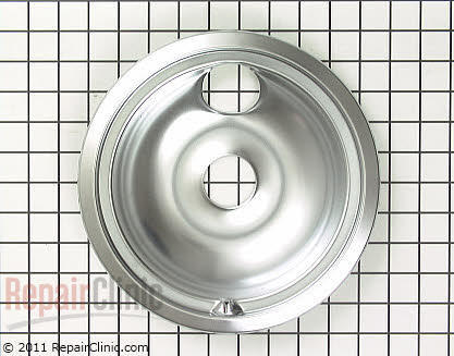 8 Inch Burner Drip Bowl (OEM)  WB32X5091, 258282