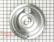 8 Inch Burner Drip Bowl - Part # 258282 Mfg Part # WB32X5091