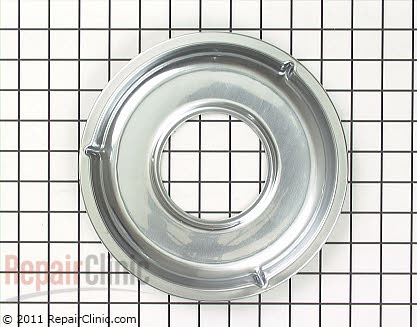 9 Inch Gas Burner Drip Bowl (OEM)  WB31K5026 - $12.60