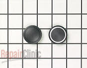 Kit, knob cap (blk) - Part # 400158 Mfg Part # 12001119
