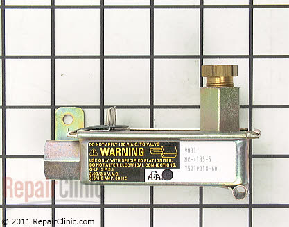 Jenn Air Oven Safety Valve