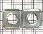Burner Drip Pan - Part # 261288 Mfg Part # WB49K24