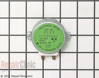 Turntable Motor (OEM)  WB26X10025 - $43.65