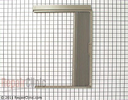 Window Side Curtain and Frame 112124090003 Main Product View