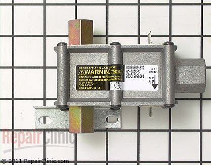 Frigidaire Dryer Gas Valve Assembly