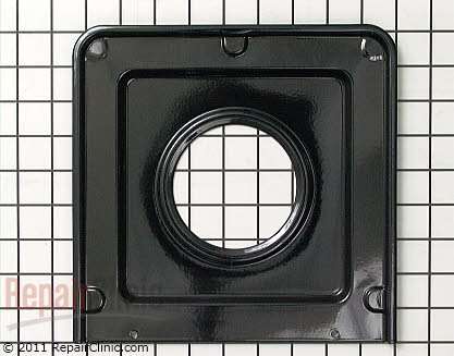 Whirlpool Burner Pan