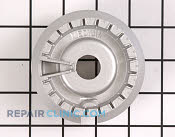 Surface Burner Base - Part # 1164517 Mfg Part # WB16K10055