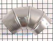 4 Inch 90 Degree Vent - Part # 597502 Mfg Part # 49026