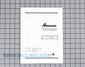 Owners manual (ags76 - Part # 1241963 Mfg Part # Y0314530