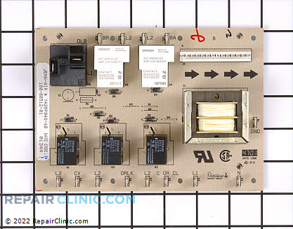 Relay Board Y04100260       Main Product View
