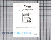 Owner's Manual - Part # 601249 Mfg Part # 503728