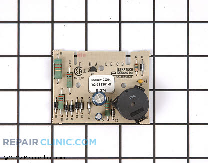 Dryness Control Board (OEM)  WE04X10102 - $54.30