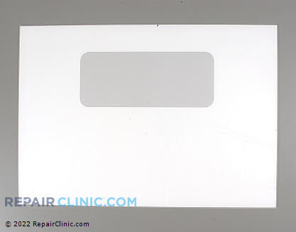 Outer Door Glass (OEM)  WB56T10037 - $91.30