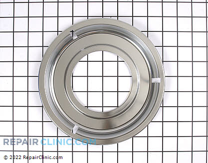 8-1/2 Inch Gas Burner Drip Bowl (OEM)  Y07514500 - $18.05