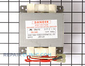 High Voltage Transformer - Part # 824233 Mfg Part # WB27X10377
