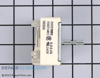 Frigidaire Surface Burner Switch