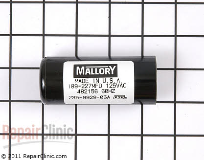 Start Capacitor 482156 Main Product View